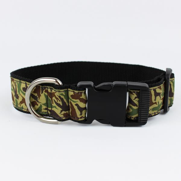 Over Under Old School Camo Collar