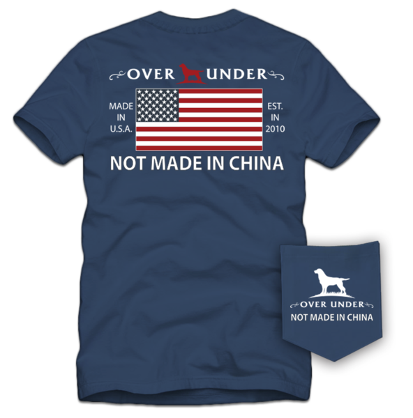 Over Under Short Sleeve Not Made in China T-Shirt