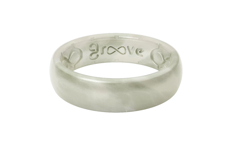Groove Life Women's Original Solid Thin Silicone Ring
