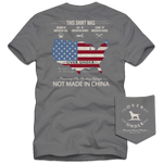 Over Under Short Sleeve American Hands T-Shirt