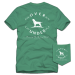 Over Under Short Sleeve Antique Logo T-Shirt