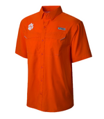 Columbia Men's Clemson Collegiate Low Drag Offshore Performance Shirt