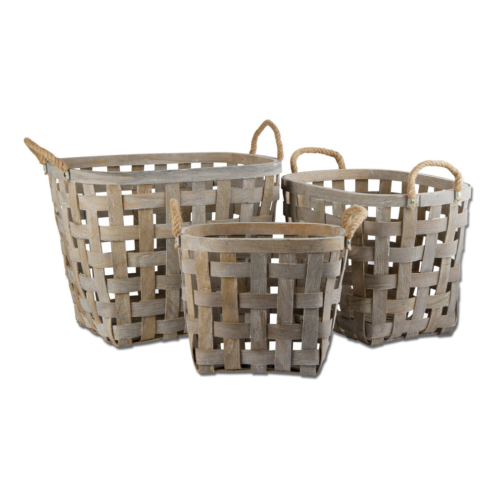 Tag Oval Baskets