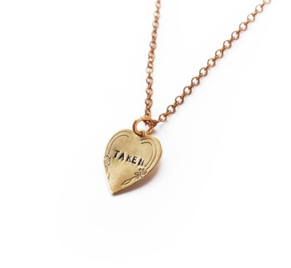 Larissa Loden Taken Heart Necklace