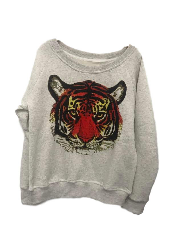 Tiger Graphic Sweatshirt