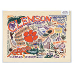 Catstudio Clemson University Art Print