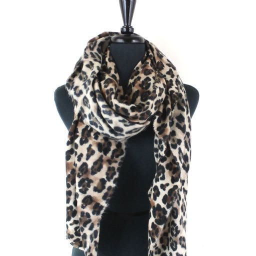 Women's Animal Print Scarves