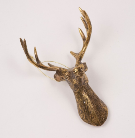 The Royal Standard Deer Bust Ornament