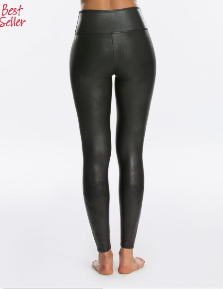 Spanx Women's Faux Leather Leggings