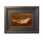 "Madison Bay Company ""Fish and Landing Net"" Painting"