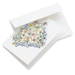 Fish Kiss South Carolina Greeting Card Single