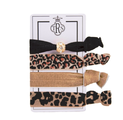 The Royal Standard Animal Print Hair Ties