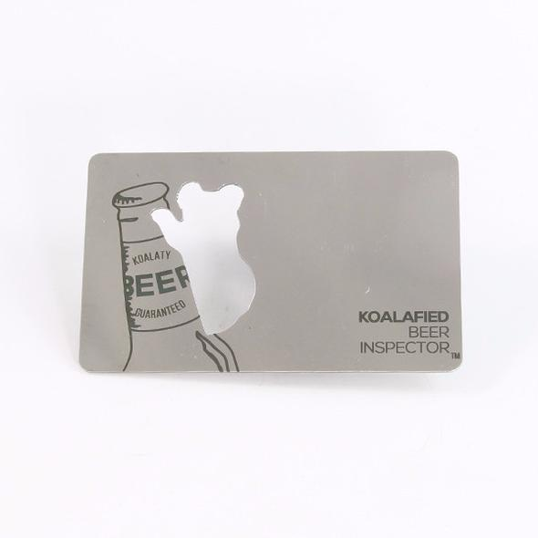 Zootility Beer & Friends Wallet Card Bottle Opener