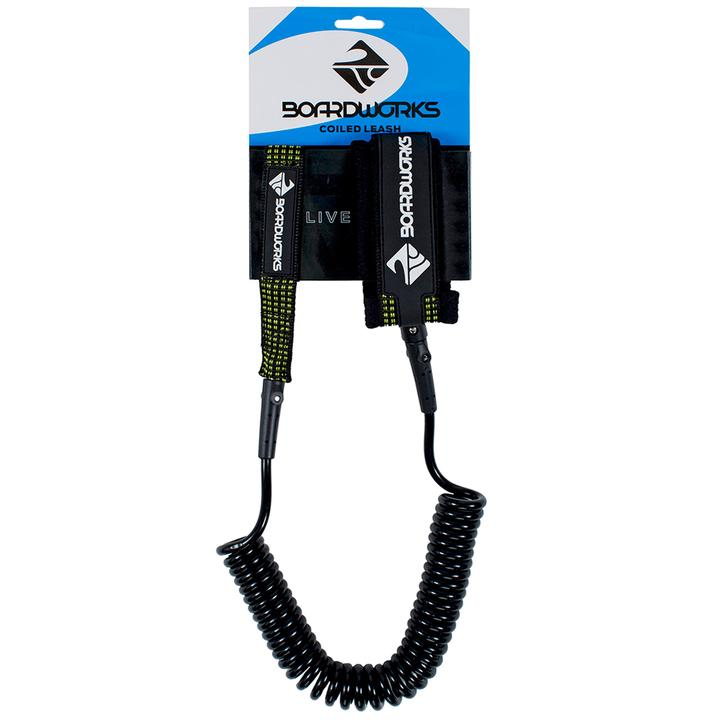 Boardworks SUP Coiled Leash