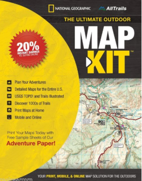 The Ultimate Outdoor Map Kit