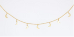 B.B. Lila Moonlight Choker