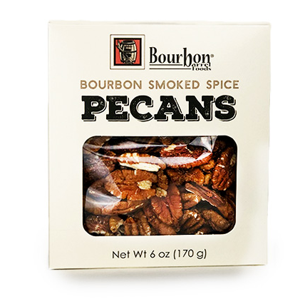 Bourbon Barrel Foods Bourbon Smoked Spice Pecans