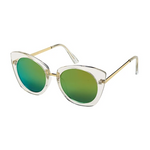 Blue Gem Sunglasses Cat Eye Jade Collection