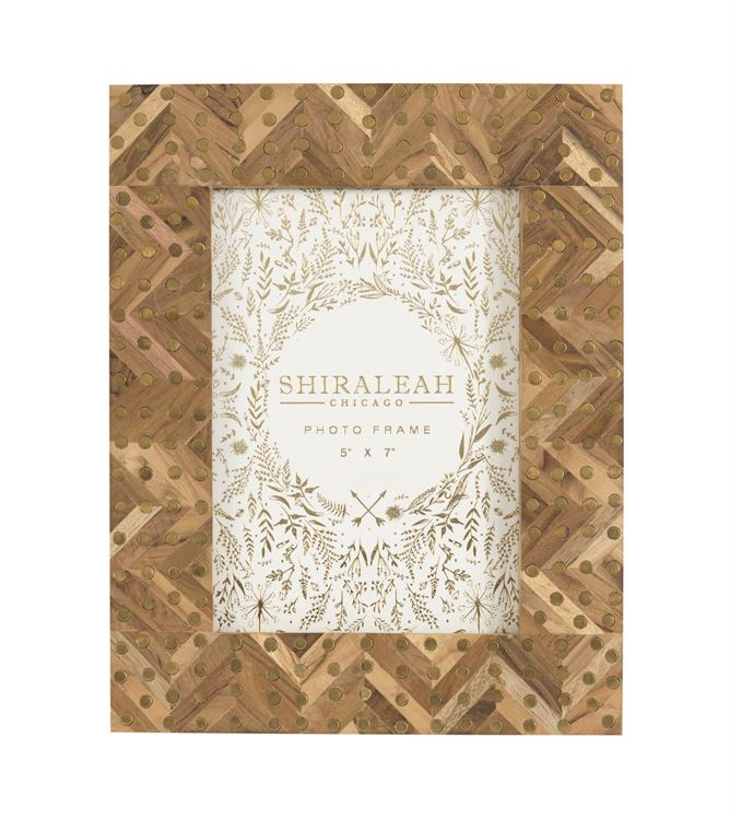 Shiraleah Mansour Studded 5x7 Photo Frame