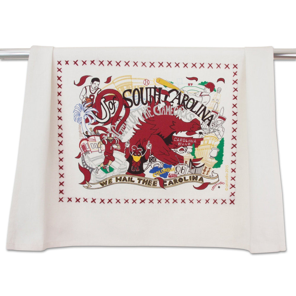Catstudio Collegiate University of South Carolina Dish Towel