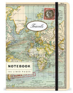 Cavallini Papers World Map Notebook Small