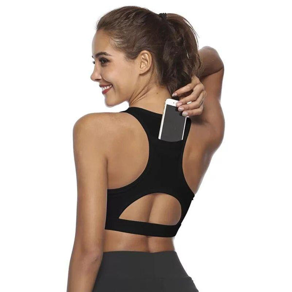 Pocket Sports Bra (Hands Free)