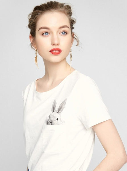Rapt - Pocket Rabbit T-Shirt
