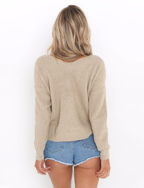 Pult - Twisted Back Sweater