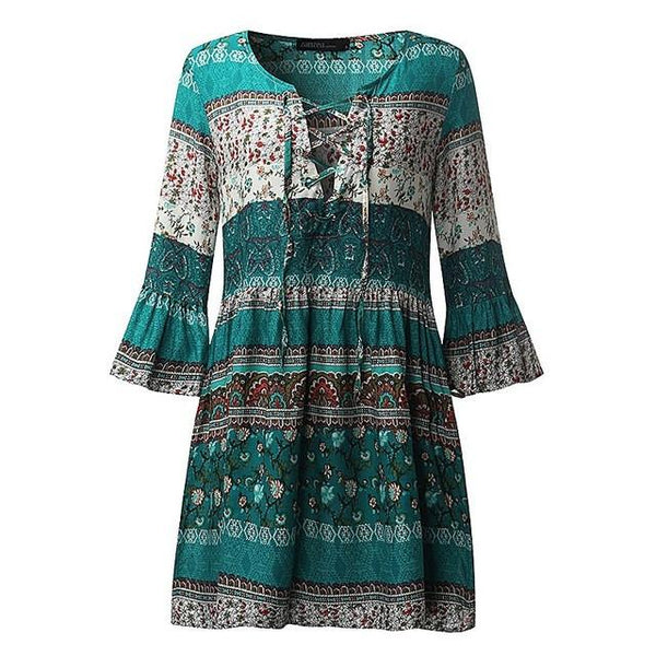 Zane - Women Printed Dress