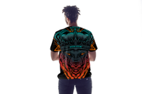 WOLF KING DRYFIT MONSOON TSHIRT. AIRY/DURABLE/COMFORTABLE.