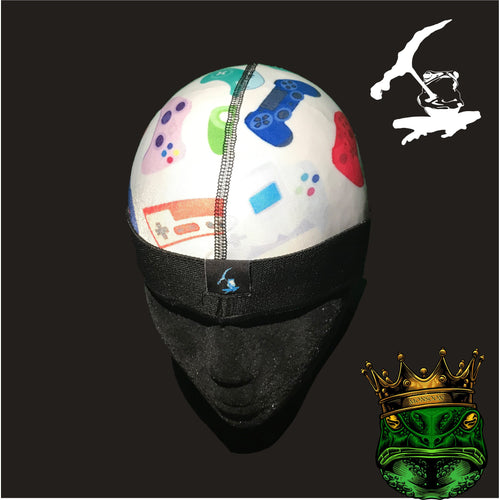 RETRO GAMER ICE CAP SILKYYY AND STRETCHY COMFORTABLE (SHIPS OUT SAME DAY)