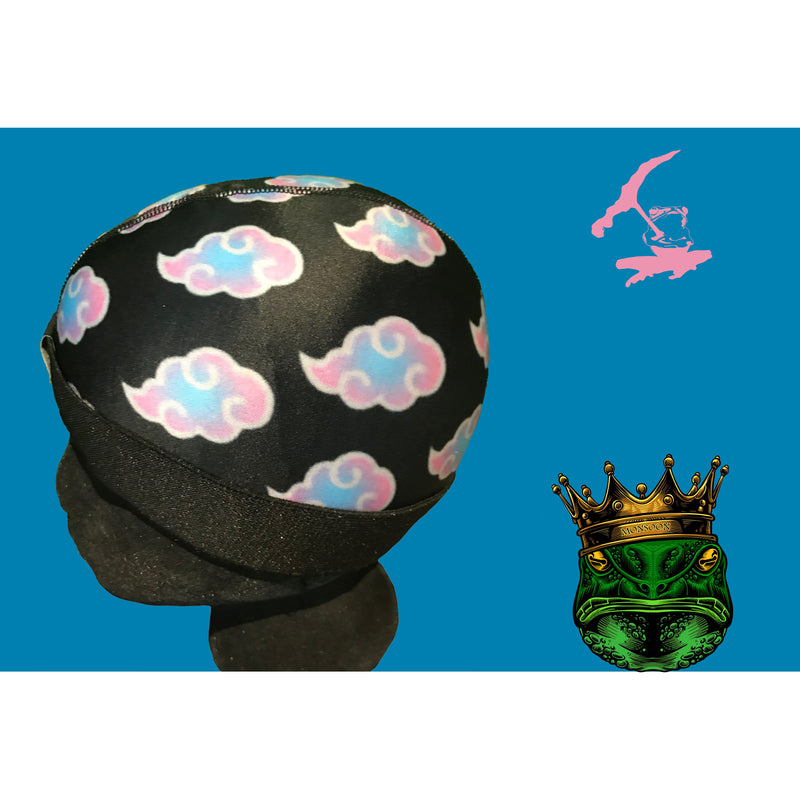 MIAMI VICE CLOUDS ICE SILKY COMPRESSION CAP  (SHIPS OUT SAME DAY)