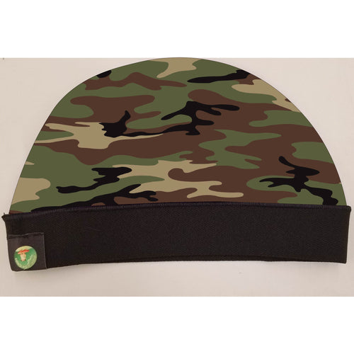 ARMY CAMO CAP SILKYYY AND STRETCHY COMFORTABLE. WAVE CAP.