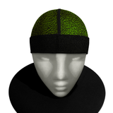 GREEN 23  silky compression cap (deluxe wrapped band)