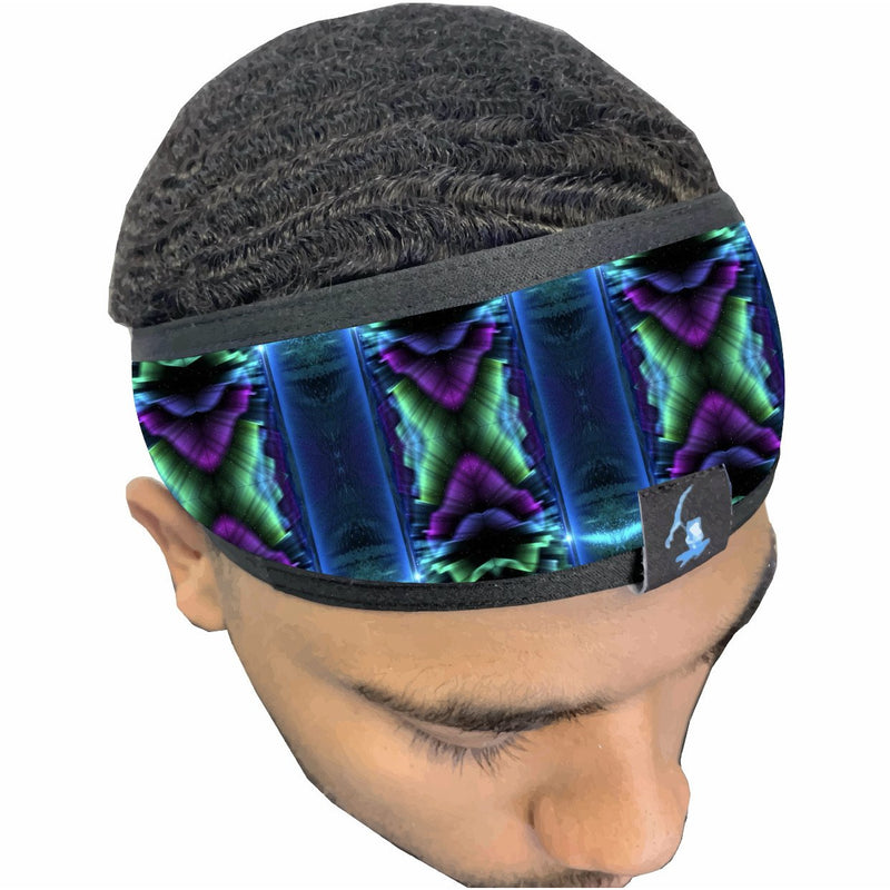"""Mind warp"" Silky HEAD BAND."