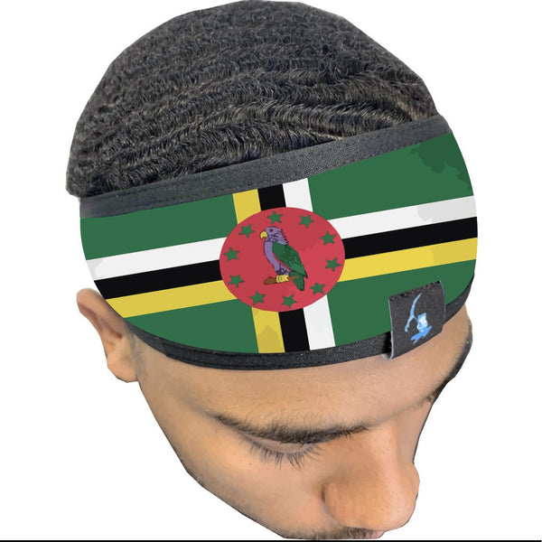 Dominica 🇩🇲 Monsoon  Headband.