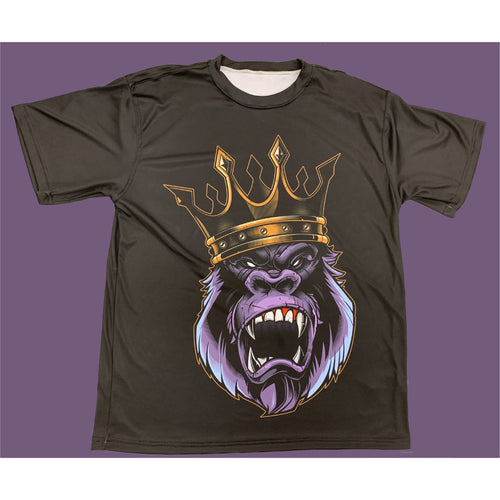 KING OF THE JUNGLE . DRYFIT MONSOON TSHIRT. AIRY/DURABLE/COMFORTABLE.