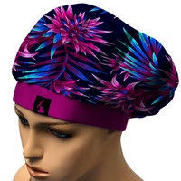 NEON BEAUTY BONNET.COMFORTABLE, STAYS ON AT NIGHT. SATIN BLEND (SHIPS OUT SAME DAY)