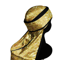GOLD NUGGET silky compression Durag