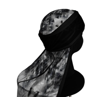 MARBLE. SILKY DURABLE COMPRESSION DURAG.  (SHIPS OUT SAME DAY)