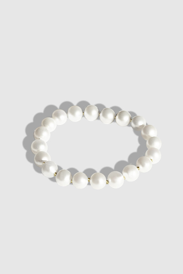 Pearls C-ring Ivory