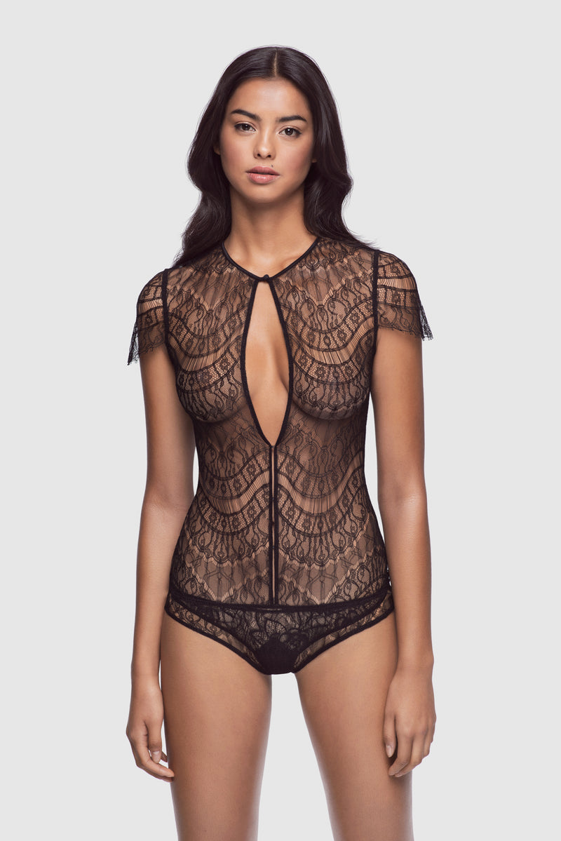All Over Lace Bodysuit - Kiki de Montparnasse