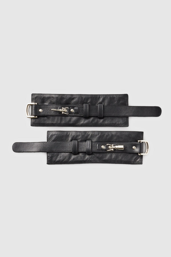 Attache Cuffs Black - Kiki de Montparnasse