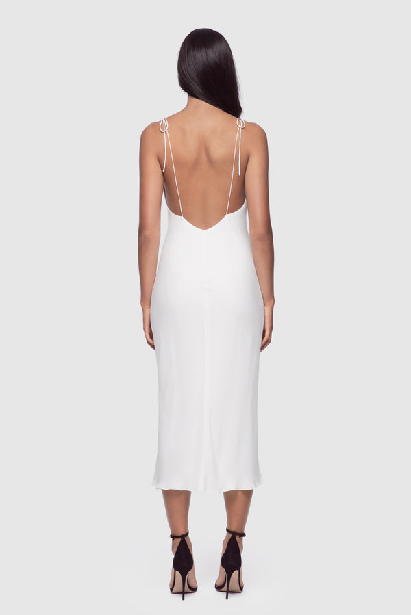 Simple Slip Dress Ivory - Kiki de Montparnasse