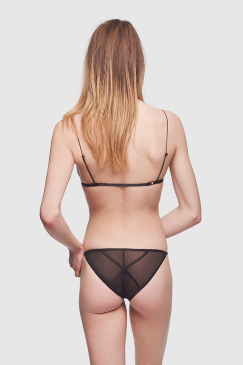 Cage Tape Brief Black - Kiki de Montparnasse