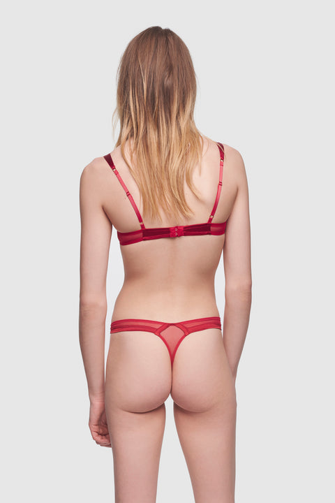 Expose Thong Classic Red