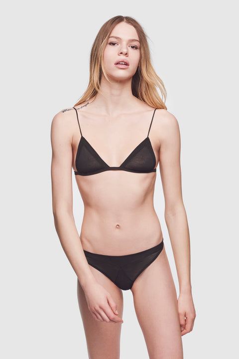 Grand Intime Soft Bra Black