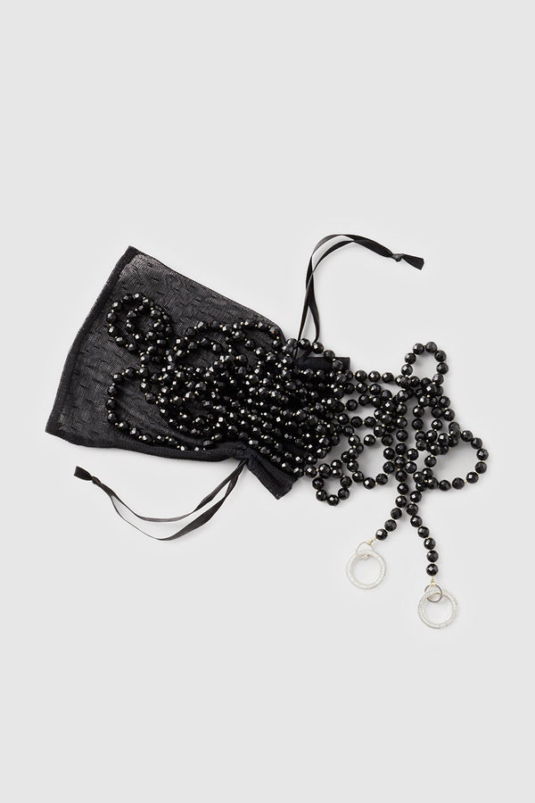 Faceted Onyx Restraints Black - Kiki de Montparnasse