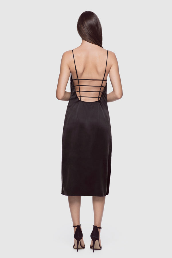Harness Slip Dress Black - Kiki de Montparnasse