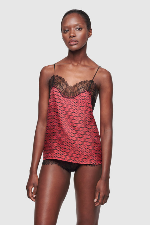 Desir Camisole Black/Red